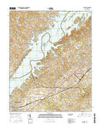Talbott Tennessee Current topographic map, 1:24000 scale, 7.5 X 7.5 Minute, Year 2016 from Tennessee Map Store