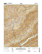 Tazewell Tennessee Current topographic map, 1:24000 scale, 7.5 X 7.5 Minute, Year 2016 from Tennessee Map Store