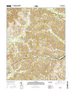 Vale Tennessee Current topographic map, 1:24000 scale, 7.5 X 7.5 Minute, Year 2016 from Tennessee Map Store