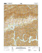 Well Spring Tennessee Current topographic map, 1:24000 scale, 7.5 X 7.5 Minute, Year 2016 from Tennessee Map Store