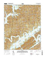 White Hollow Tennessee Current topographic map, 1:24000 scale, 7.5 X 7.5 Minute, Year 2016 from Tennessee Map Store