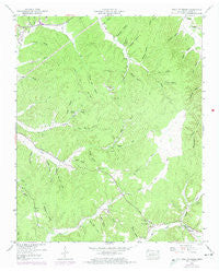 Wolf Pit Ridge Tennessee Historical topographic map, 1:24000 scale, 7.5 X 7.5 Minute, Year 1949