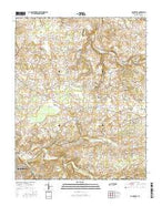 Youngville Tennessee Current topographic map, 1:24000 scale, 7.5 X 7.5 Minute, Year 2016 from Tennessee Map Store