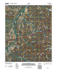 Yuma Tennessee Historical topographic map, 1:24000 scale, 7.5 X 7.5 Minute, Year 2010