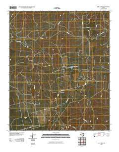 A B C Creek Texas Historical topographic map, 1:24000 scale, 7.5 X 7.5 Minute, Year 2010