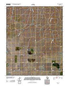 Abell Texas Historical topographic map, 1:24000 scale, 7.5 X 7.5 Minute, Year 2010