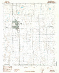 Abernathy Texas Historical topographic map, 1:24000 scale, 7.5 X 7.5 Minute, Year 1985