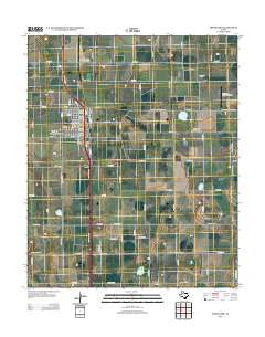 Abernathy Texas Historical topographic map, 1:24000 scale, 7.5 X 7.5 Minute, Year 2012