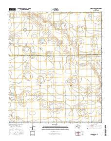 Abernathy SW Texas Current topographic map, 1:24000 scale, 7.5 X 7.5 Minute, Year 2016