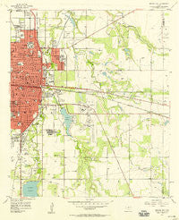 Abilene East Texas Historical topographic map, 1:24000 scale, 7.5 X 7.5 Minute, Year 1957