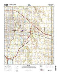 Abilene East Texas Current topographic map, 1:24000 scale, 7.5 X 7.5 Minute, Year 2016