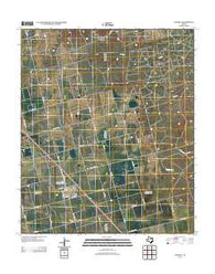 Ackerly Texas Historical topographic map, 1:24000 scale, 7.5 X 7.5 Minute, Year 2012