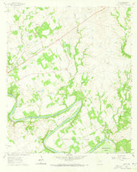 Acton Texas Historical topographic map, 1:24000 scale, 7.5 X 7.5 Minute, Year 1961