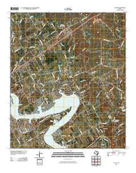 Acton Texas Historical topographic map, 1:24000 scale, 7.5 X 7.5 Minute, Year 2010