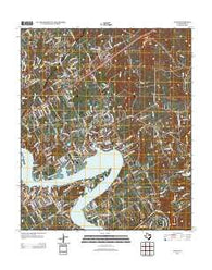 Acton Texas Historical topographic map, 1:24000 scale, 7.5 X 7.5 Minute, Year 2012