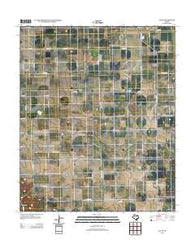 Acuff Texas Historical topographic map, 1:24000 scale, 7.5 X 7.5 Minute, Year 2012