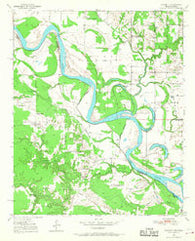 Acworth Texas Historical topographic map, 1:24000 scale, 7.5 X 7.5 Minute, Year 1950