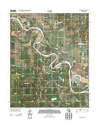 Acworth Texas Historical topographic map, 1:24000 scale, 7.5 X 7.5 Minute, Year 2013