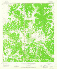 Adams Texas Historical topographic map, 1:24000 scale, 7.5 X 7.5 Minute, Year 1963
