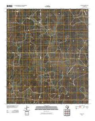 Adams Texas Historical topographic map, 1:24000 scale, 7.5 X 7.5 Minute, Year 2010