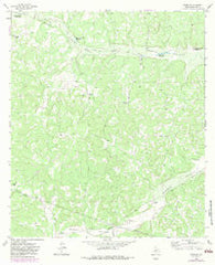 Adams SE Texas Historical topographic map, 1:24000 scale, 7.5 X 7.5 Minute, Year 1963