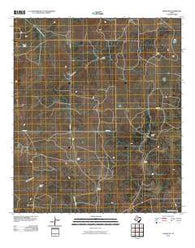 Adams NW Texas Historical topographic map, 1:24000 scale, 7.5 X 7.5 Minute, Year 2010