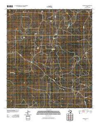 Adams SW Texas Historical topographic map, 1:24000 scale, 7.5 X 7.5 Minute, Year 2010