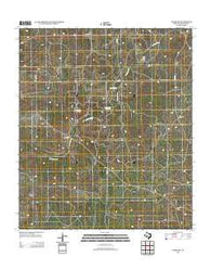Adams SW Texas Historical topographic map, 1:24000 scale, 7.5 X 7.5 Minute, Year 2012