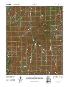 Adobe Creek SE Texas Historical topographic map, 1:24000 scale, 7.5 X 7.5 Minute, Year 2010