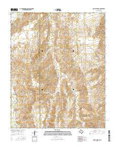 Adobe Creek SE Texas Current topographic map, 1:24000 scale, 7.5 X 7.5 Minute, Year 2016