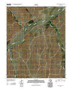 Adobe Creek SW Texas Historical topographic map, 1:24000 scale, 7.5 X 7.5 Minute, Year 2010