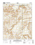 Ady Texas Current topographic map, 1:24000 scale, 7.5 X 7.5 Minute, Year 2016 from Texas Map Store