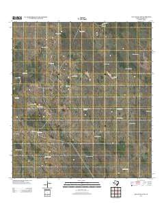 Agua Nueva NW Texas Historical topographic map, 1:24000 scale, 7.5 X 7.5 Minute, Year 2012