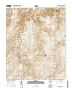 Alamocitos Camp Texas Current topographic map, 1:24000 scale, 7.5 X 7.5 Minute, Year 2016 from Texas Map Store