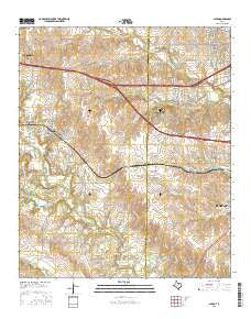 Aledo Texas Current topographic map, 1:24000 scale, 7.5 X 7.5 Minute, Year 2016