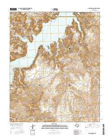 Alibates Ranch Texas Current topographic map, 1:24000 scale, 7.5 X 7.5 Minute, Year 2016