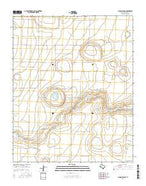 Allison Ranch Texas Current topographic map, 1:24000 scale, 7.5 X 7.5 Minute, Year 2016 from Texas Map Store