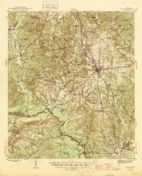 Alto Texas Historical topographic map, 1:62500 scale, 15 X 15 Minute, Year 1946