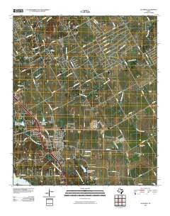 Alvarado Texas Historical topographic map, 1:24000 scale, 7.5 X 7.5 Minute, Year 2010