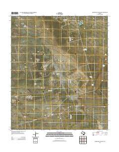 Amburgey Ranch Texas Historical topographic map, 1:24000 scale, 7.5 X 7.5 Minute, Year 2012