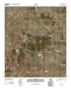 Anderson Texas Historical topographic map, 1:24000 scale, 7.5 X 7.5 Minute, Year 2010