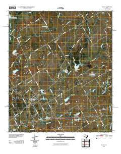 Axtell Texas Historical topographic map, 1:24000 scale, 7.5 X 7.5 Minute, Year 2010