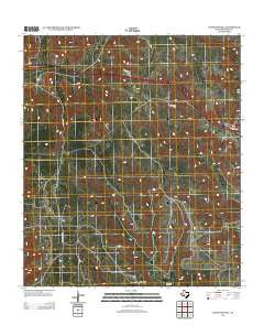 Bachelor Hill Texas Historical topographic map, 1:24000 scale, 7.5 X 7.5 Minute, Year 2012