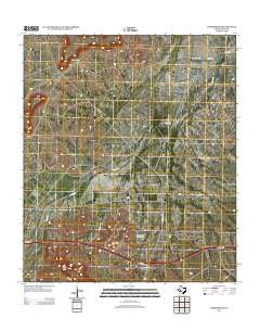Bakersfield Texas Historical topographic map, 1:24000 scale, 7.5 X 7.5 Minute, Year 2012