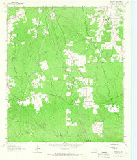 Bald Hill Texas Historical topographic map, 1:24000 scale, 7.5 X 7.5 Minute, Year 1963