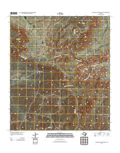 Bandera Mesa South Texas Historical topographic map, 1:24000 scale, 7.5 X 7.5 Minute, Year 2012