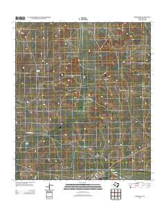 Barnhart Texas Historical topographic map, 1:24000 scale, 7.5 X 7.5 Minute, Year 2012