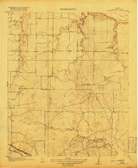 Barwise School Texas Historical topographic map, 1:31680 scale, 7.5 X 7.5 Minute, Year 1918