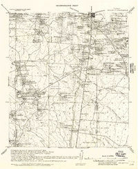 Ben Bolt Texas Historical topographic map, 1:62500 scale, 15 X 15 Minute, Year 1917