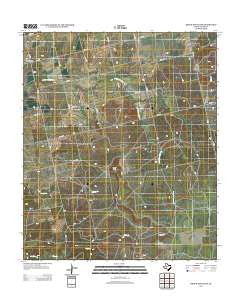 Bench Mountain Texas Historical topographic map, 1:24000 scale, 7.5 X 7.5 Minute, Year 2012